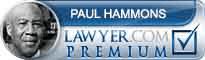 Paul Hammons  Lawyer Badge