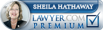 Sheila Marie Hathaway  Lawyer Badge