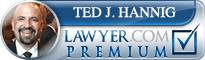 Ted J. Hannig  Lawyer Badge