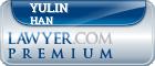 Yulin Han  Lawyer Badge