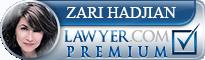 Zari Hadjian  Lawyer Badge