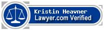 Kristin Elaine Heavner  Lawyer Badge