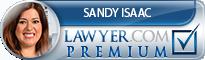 Sandy Sofia Isaac  Lawyer Badge