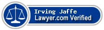 Irving Jaffe  Lawyer Badge
