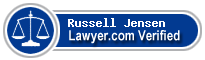 Russell Keith Jensen  Lawyer Badge