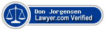 Don Howard Jorgensen  Lawyer Badge