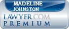Madeline Inge Johnston  Lawyer Badge