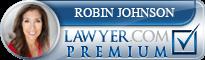 Robin Johnson  Lawyer Badge