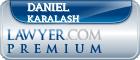 Daniel Michael Karalash  Lawyer Badge