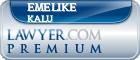 Emelike Igwe Kalu  Lawyer Badge