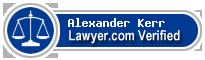 Alexander Rice Kerr  Lawyer Badge