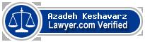 Azadeh Keshavarz  Lawyer Badge