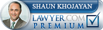 Shaun Khojayan  Lawyer Badge