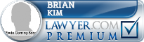 Brian Sangwook Kim  Lawyer Badge