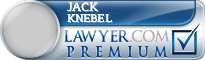 Jack Gillen Knebel  Lawyer Badge
