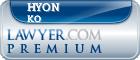 Hyon Sun Ko  Lawyer Badge