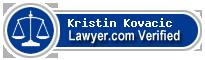 Kristin Elise Kovacic  Lawyer Badge