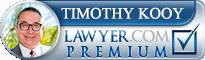Timothy Joseph Kooy  Lawyer Badge