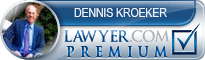 Dennis Kroeker  Lawyer Badge