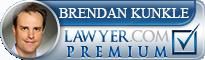Brendan M. Kunkle  Lawyer Badge