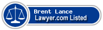 Brent Lance Lawyer Badge