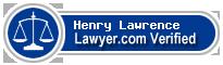 Henry Joseph Lawrence  Lawyer Badge