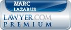 Marc Lazarus  Lawyer Badge