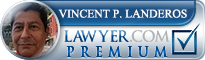 Vincent Peter Landeros  Lawyer Badge