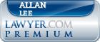 Allan Lee  Lawyer Badge