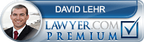 David Michael Lehr  Lawyer Badge