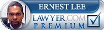 Ernest Lee  Lawyer Badge