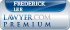 Frederick Billings Lee  Lawyer Badge