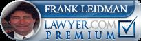 Frank Z. Leidman  Lawyer Badge