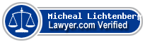 Micheal Gary Lichtenberg  Lawyer Badge