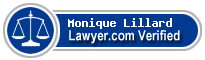 Monique Claire Lillard  Lawyer Badge
