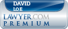 David Craig Loe  Lawyer Badge