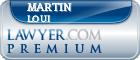 Martin S C Loui  Lawyer Badge