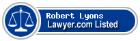 Robert Lyons Lawyer Badge