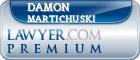 Damon Lee Martichuski  Lawyer Badge