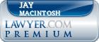 Jay W Macintosh  Lawyer Badge