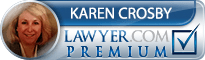 Karen Matcke Crosby  Lawyer Badge
