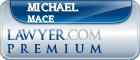 Michael Crispin Mace  Lawyer Badge
