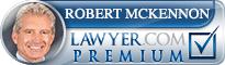 Robert John Mckennon  Lawyer Badge