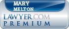 Mary Irene Melton  Lawyer Badge