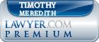 Timothy P. Meredith  Lawyer Badge