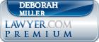 Deborah Miller  Lawyer Badge