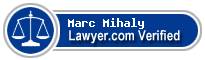 Marc Bramer Mihaly  Lawyer Badge