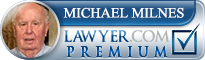 Michael Alan Milnes  Lawyer Badge
