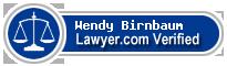 Wendy Birnbaum  Lawyer Badge