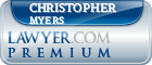 Christopher Ross Myers  Lawyer Badge